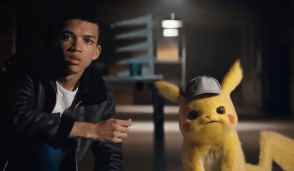 Ryan Reynolds Justice Smith Pokémon Detective Pikachu
