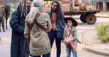 Danai Gurira Cailey Fleming Melissa McBride Khary Payton The Walking Dead The Calm Before