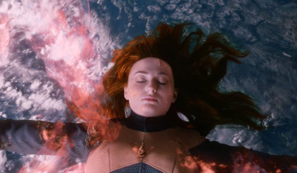 Sophie Turner Burning Earth X-Men Dark Phoenix