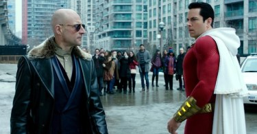 Zachary Levi Mark Strong Shazam