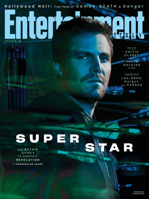 Arrow Arrowverse Entertainment Weekly August 2019 Cover