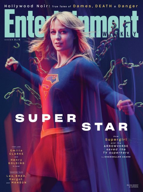 Supergirl Arrowverse Entertainment Weekly August 2019 Cover