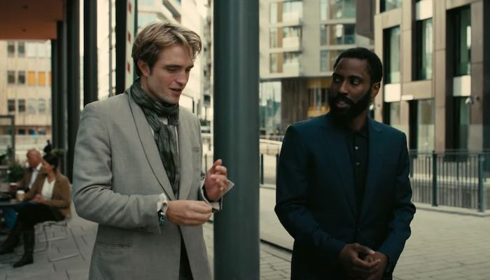Tenet 2020 Movie Trailer 2 Robert Pattinson John David Washington Utilize Inversion In Christopher Nolan S Thriller Filmbook