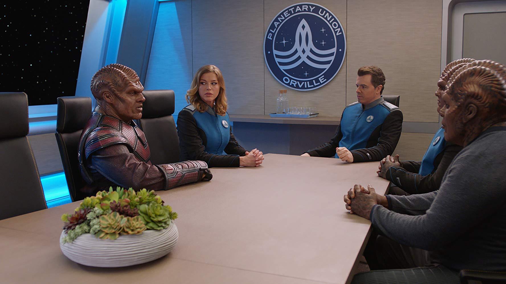 The Orville; Star Trek, sci-fi, critics, editorial