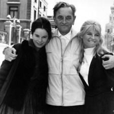Fota dnia – David Lean wraz z Geraldine Chaplin i Julie Christie