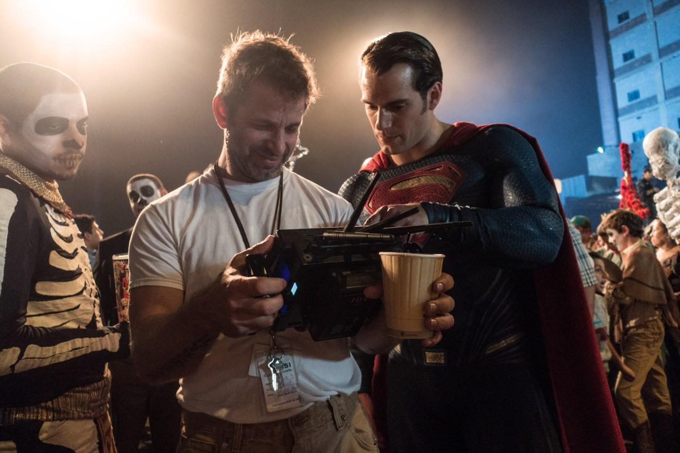 Zack Snyder i Henry Cavill