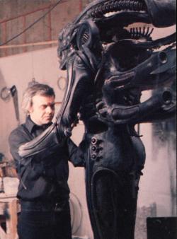 alien in the studio