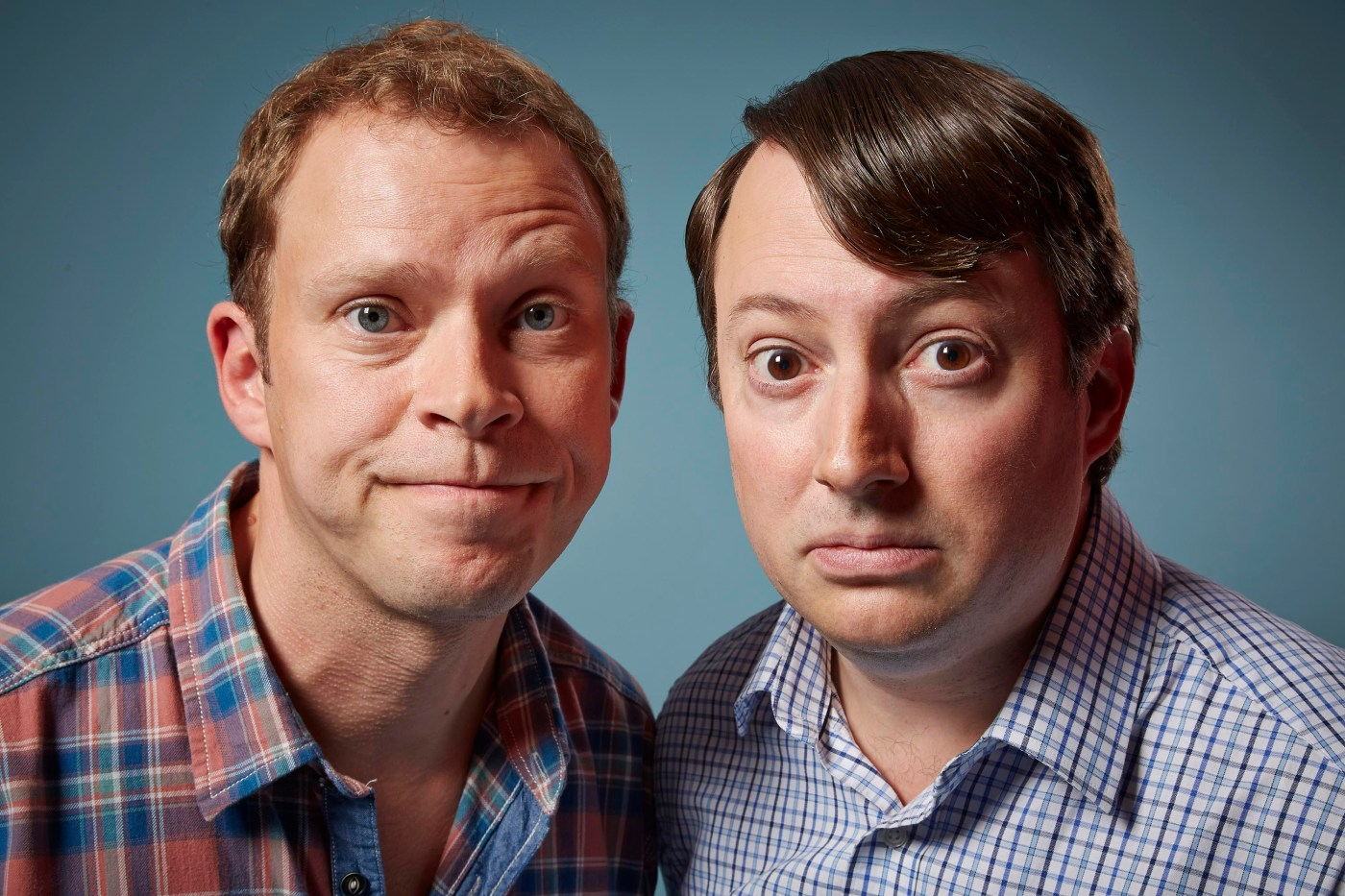 Peep Show Series 9 - (Robert Webb as Jeremy and David Mitchell as Mark)