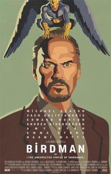 """Birdman or (The Unexpected Virtue of Ignorance)"" 2014 - Alejandro G. Iñárritu"