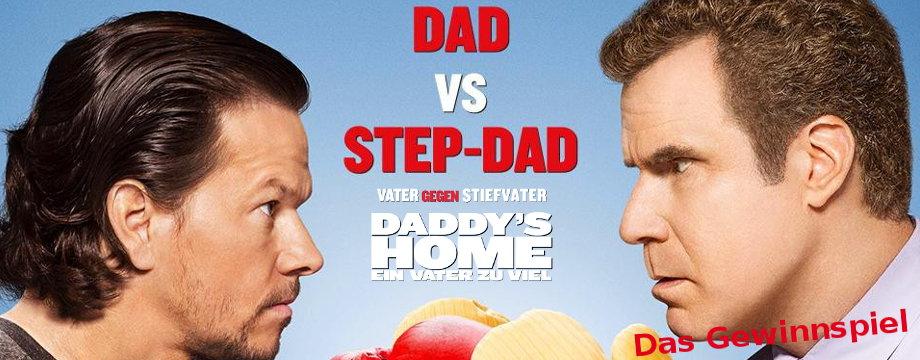 Das Daddys Home Gewinnspiel