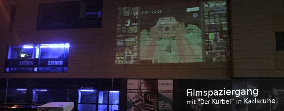 Open Air Kurzfilmkino in Karlsruhe