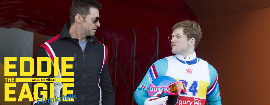 eddie the eagle - Kritik