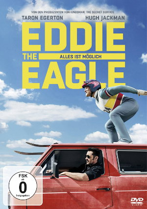 Eddie The Eagle - DVD-Cover