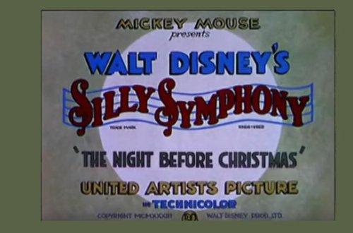 The Night Before Christmas - Disney short movie