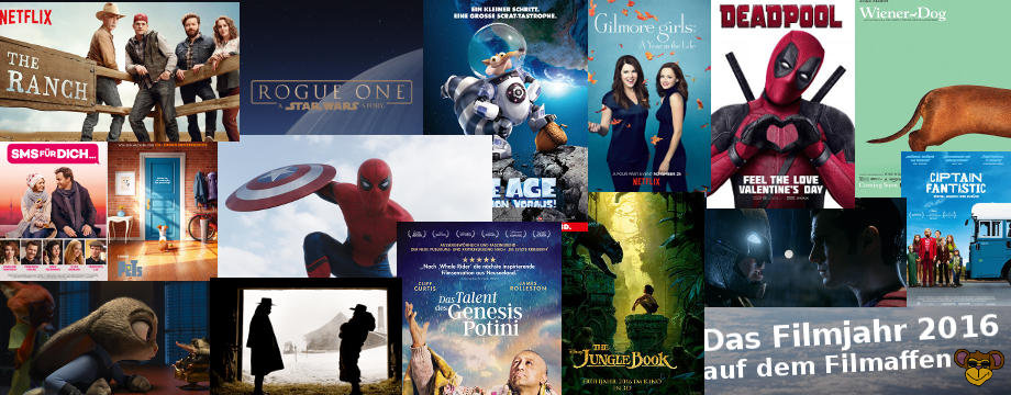 Filmjahr 2016 - Kinojahr 2016