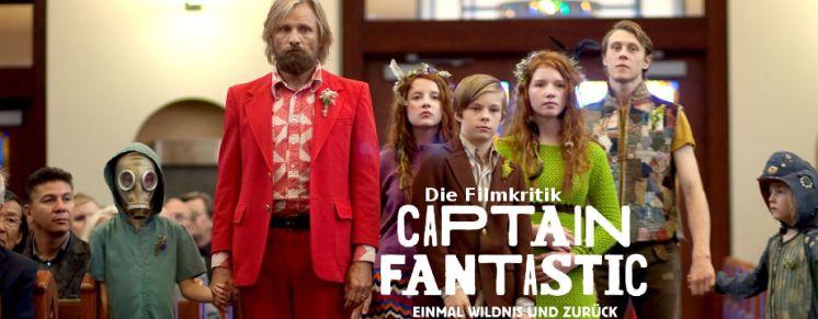 Captain Fantastic - Filmkritik - Review