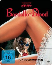 Bordello of Blood - bLu-Ray-cover