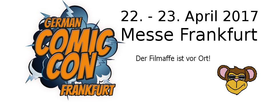 Ankündigung: GERMAN COMIC CON in Frankfurt (2017)