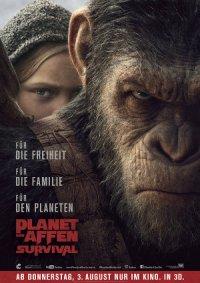 Planet der Affen Survival - Poster