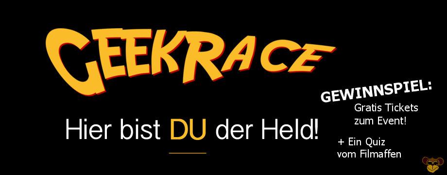 Geek Race 2017 - Gewinnspiel | Eine Schnitzeljagd durch Deutschland