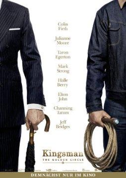 Kingsman - The Golden Circle - Poster   Der zweite Teil einer Comicverfilmung