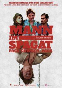 Mann in Spagat - Poster