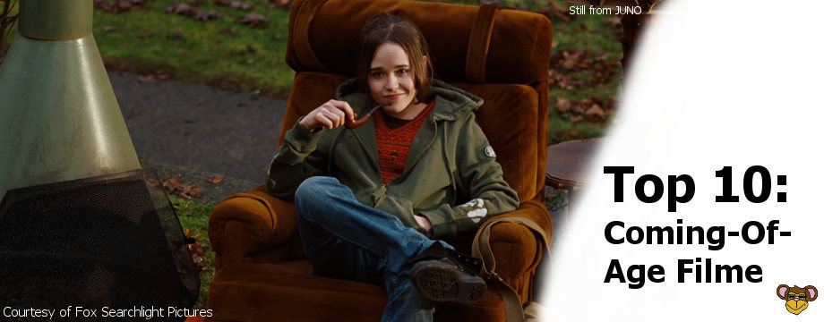 Top 10 - Coming of Age Filme | Ellen Page in JUNO