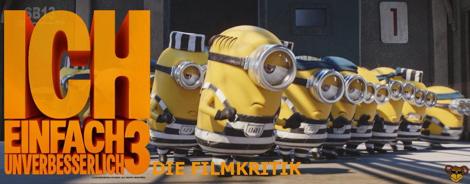 Ich einfach unverbesserlich 3 - Kritik   der dritte Teil einer Animatiosnfilmreihe