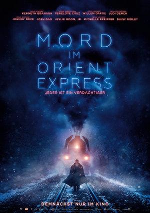 Mord im Orient Express - 2017 - Poster | Neuverfilmung nach dme Roman von Agatha Christie