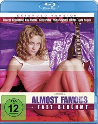 Almost Famous - Blu-Ray-Cover | autobiographischer Musikfilm