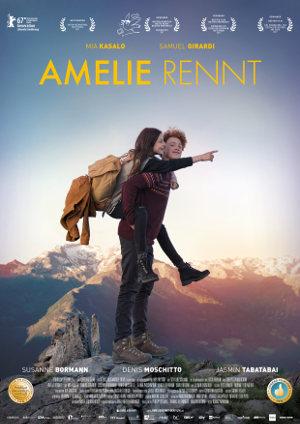 Amelie Rennt - Poster | Ein Coming of Age Film über ein krankes Mädchen, das in die Wildnis flüchtet