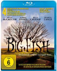 Big Fish - Blu-Ray Cover