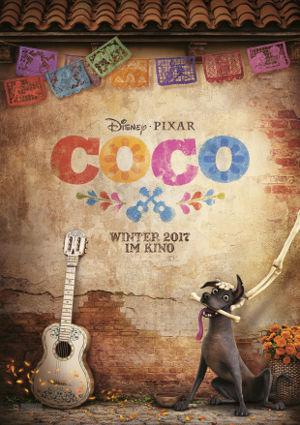 Coco - Poster | Portrait (COCO_001A_G - Domestic Teaser Poster )