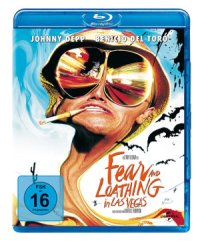 Fear and Loathing in Las Vegas - Blu-Ray-Cover | nach Hunter S. Thompson