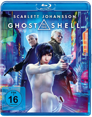 Ghost in the Shell - Blu-Ray Cover