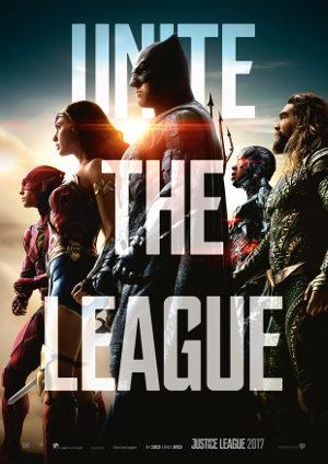 Justice League - Poster   Die DC-Helden treffen erstmals aufeinander