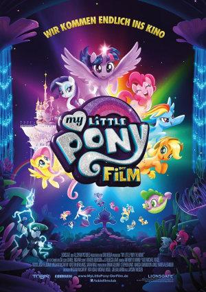 My little Pony - Der Film - Poster   Animationsfilm um Spielzeugfiguren