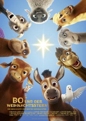 Bo und der Weihnachtsstern - Poster | Animationsfilm