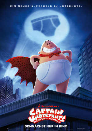 Captain Underpants - Poster | Ein Superheld in Unterhose