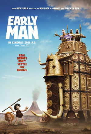 Early Man_teaser | Animationfilm, Stop-Motion-Film über Urzeitmenschen