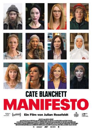 Manifesto - Poster | Film mit Cate Blanchett in zwölf Rollen