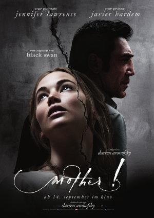 Mother - Poster   Jennifer Lawrence in einem düsteren Horrorfilm