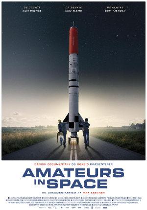 amateurs in space - poster | Dokumentation über zwei Freunde, die ein Rakete bauen wollen.