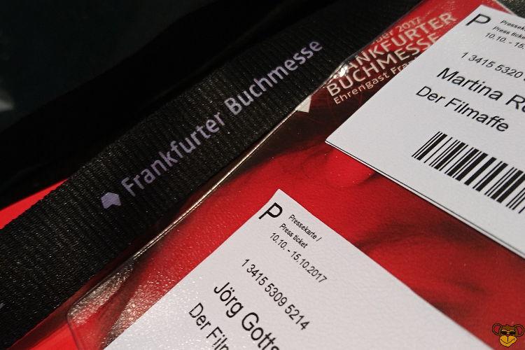 Frankfurter Buchmesse 2017 - Die Filmaffen