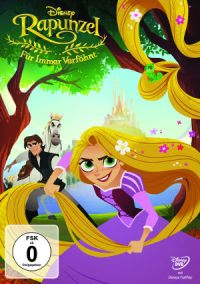 Rapunzel – Für Immer Verföhnt - DVD-Cover | Neue Serie auf Disney Channel
