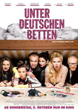 Unter deutschen Betten - Poster   deutsche Komödie mit Veronica Ferres