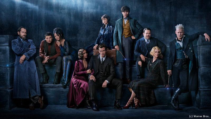 Fantastic Beast 2 - First Look | Johnny Depp as Grindelwald, Jude Lwa as Dumbledore, Eddie Redmayne as Scamander