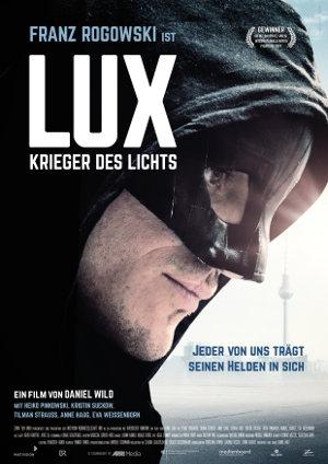 Lux - Krieger des Lichts - Poster | Superhelden-Satire aus Deutschland