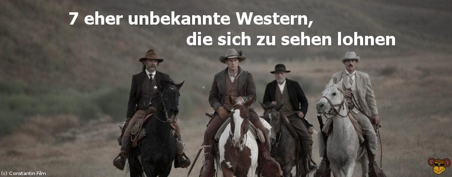 7 eher unbekannte Western, die sich zu sehen lohnen