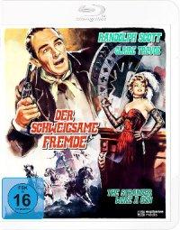 Der einsame Fremde - Blu-Ray-Cover | Western